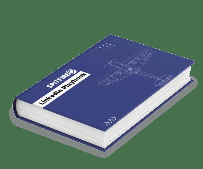 Spitfire Inbound LinkedIn Playbook cover
