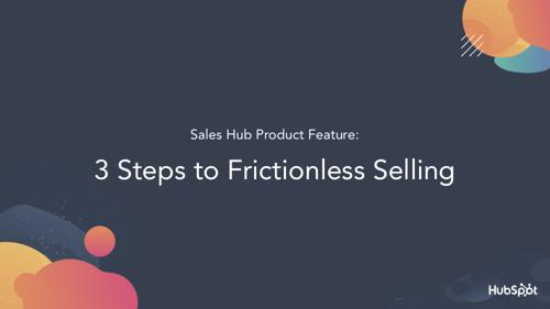 Frictionless Selling - Spitfire Deck image