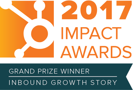 HubSpot Impact Award Winner (Inbound Growth Story) - Spitfire Inbound Marketing Agency